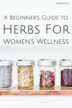 Herbal Healing for Women: A Beginner's Guide to Using Herbs For Natural Wellness