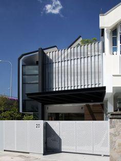 Armadillo House by Formwerkz Architects - News - Frameweb