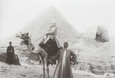 Madame Lanvin on holiday in Egypt in the 1920's.