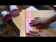 Flower Punch Board von We R Memory Keepers - stilisierter Fisch als Tischdeko - YouTube