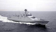 144 m advanced combatant Air Defence & Command Frigate ship