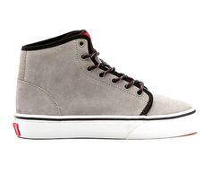 Vans Suede 106 Hi Kids Shoes (wild dove/true white) : New Arrivals : Black Wagon