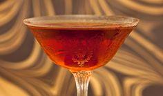 Bushwick 2 oz rye whiskey ¾ oz Carpano Antica Formula ¼ oz Amer Picon ¼ oz Maraschino liqueur
