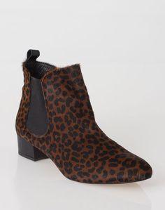 1.2.3 Paris - Les accessoires automne-hiver 2016 - #Bottines imprimées animalier Uzanna 129€ #123paris #mode #fashion #shopping #accessoire #accessories #leather #boots