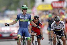 Peter Sagan skončil druhý v 10. etape Tour de France