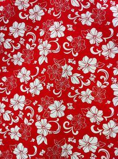 Red Hibiscus Via Etsy