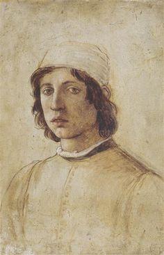 Autoportrait, Lippi Filippino (1457-1504)