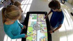 It's Your Choice: Life Choices is a multitouch interactive table game optimised for public spaces that can host 4 players simultaneously. Interactive Table, Interactive Museum, Choices Game, Life Choices, Game Presents, Museum Exhibition, Design Consultant, Game Design, Environment