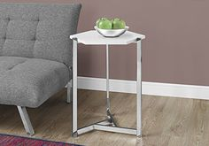 Indoor Multi-function Accent table Study Computer Desk Bedroom Living Room Modern Style End Table Sofa Side Table Coffee Table Hexagonal White Accent Table White Accent Table, Metal Accent Table, Accent Tables, Living Room Furniture, Home Furniture, Furniture Ideas, Lacquer Furniture, Furniture Shopping, Furniture Online