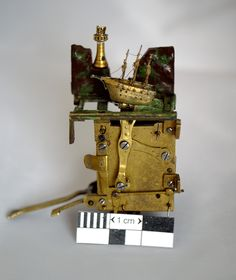 mini automaton ship