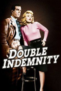 Double Indemnity (1944) - Directed by Billy Wilder - An insurance rep lets himself be talked into a murder/insurance fraud scheme that arouses an insurance investigator's suspicions. 4 1/2****