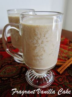 Not Egg Nog ... it is Hemp Nog ;)  and it is raw, too!  I am definitely making this, as soon as I purchase a young coconut!  I think I will also add a teaspoon of maca and a dash of turmeric and a drop or two of liquid stevia.  Yummy!!