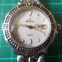 BULOVA - STUNNING 1980's Water Resistant, Swiss made - Full Working Order, Untouched Guaranteed Genuine Gents Quartz Wristwatch by EWcoLondon on Etsy Unique Christmas Gifts, Unique Gifts, Retro Watches, Bulova, Rolex Watches, Quartz, Valentines, Chain, Birthdays