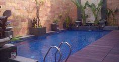 desain rumah santai kolam renang kecil awaludin m