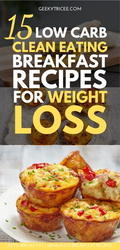 15 grab-n-go keto breakfast recipes for busy people. These ketogenic breakfasts can be taken on the run and they don't require plates! Healthy Breakfast Recipes For Weight Loss, Ketogenic Breakfast, Clean Eating Recipes For Weight Loss, Clean Eating Breakfast, Quick Healthy Breakfast, Ketogenic Diet, Breakfast Ideas, Breakfast Cups, Healthy Breakfasts