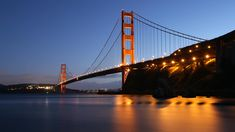 Desktop Wallpapers: Desktop Wallpapers: Golden Gate Bridge at Night