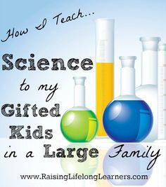 How I Teach Science To Gifted Kids At Home Curriculumpreschool