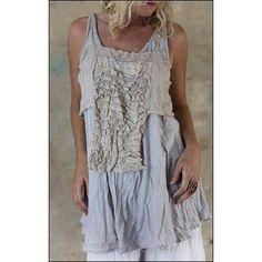 top Bralette in Bardot - Boho-Chic Clothing