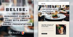 Belise v1.0.9 – Exquisite Minimalist Restaurant Theme