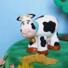 http://lamuccasbronza.blogspot.com  Farm Cake  torta fattoria, la mucchina