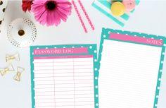 Printable Planner by ThePreppyGreek