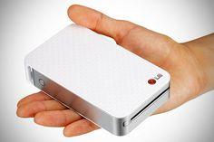 LG Pocket Photo: una impresora inalámbrica de bolsillo para móviles - Libertad Digital