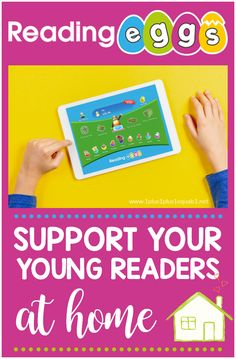 Support Reading Skills at Home with Reading Eggs Literacy Activities, Preschool Activities, Preschool Kindergarten, Reading Levels, Reading Skills, Reading Eggs, Online Books For Kids, Reading At Home, Preschool At Home