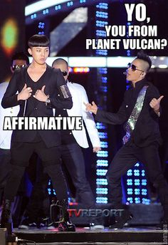 You never know what look GD is going to be rockin'.