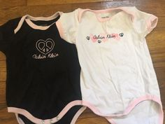 Calvin Klein Baby Bodysuit Or Shirt, So Sweet And Adorable!! Size 3/6 Months    eBay