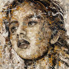 SMALL TOWN GIRL Acrylic on Canvas 180cm x 180cm