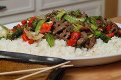 Top Round Steak Stir Fry with Broccoli