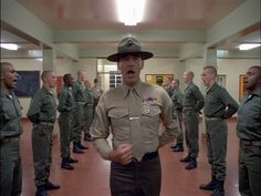 Stanley Kubrick's 'Full Metal Jacket' is probably, of all Vietnam War movies made, the most influential. It's an iconic movie with a huge fandom. Stanley Kubrick, Charlie Chaplin, Force Movie, Dylan Moran, Stephen King Books, Stephen Kings, Carly Simon, Eartha Kitt, Anthony Perkins