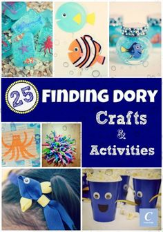 1000 images about over 1 000 craft ideas for kids on for Finding dory crafts for preschoolers