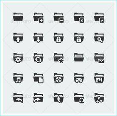 24 Premium Icons For Software Designs