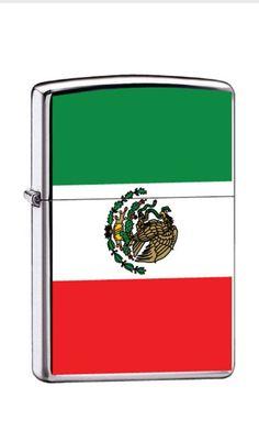 Mexico Flag Zippo Lighter
