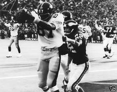 Larry Brown Pittsburgh Steelers Super Bowl 9 touchdown catch