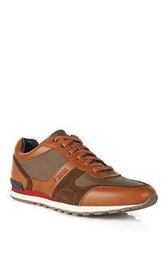 'Runner' | Calfskin Textured Sneaker