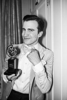 Gavin Creel wins his first Tony Award for Hello, Dolly!