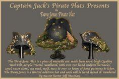 Amazing davy jones hat by master hatter jeff mackay