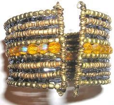 Multi Color Memory Wire Bracelet collection (9)