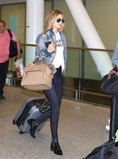 Gigi Hadid wears Adidas Originals X Pharrell Williams Bomber jacket and Marc Jacobs Bag in Toronto  #gigihadid #adidasoriginals #pharrellwilliams #jacket #marcjacobs #bag #toronto