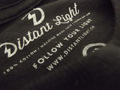 Helped print a batch for our friends at Distant Light Supply Co