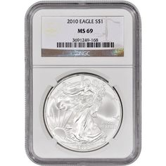 2010 American Silver Eagle 1 MS69 NGC *** Click on the image for additional details. Note: It's an affiliate link to Amazon
