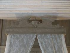 French bed detail.  www.collingbourne.wordpress.com
