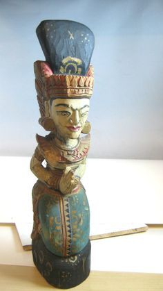 Love this sacred, little figurine from Bali... I think he's called a Dewi Sri #dewisri #bali
