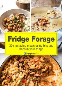 This is for all those days when you're standing in front of the fridge, wondering what you can make with the bits and bobs you see….  From a made from scratch (easy!) Curry to... Read More »