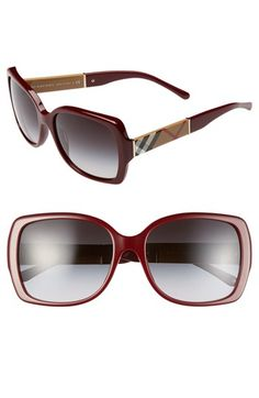 84b071ed40c Burberry 58mm Square Sunglasses available at  Nordstrom Burberry Sunglasses
