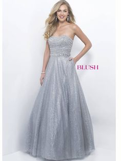 Glittering Prom Gown by Blush