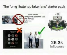 Tbh I hate people who spend half their time shouting at people that they're fake fans I mean GET OVER IT