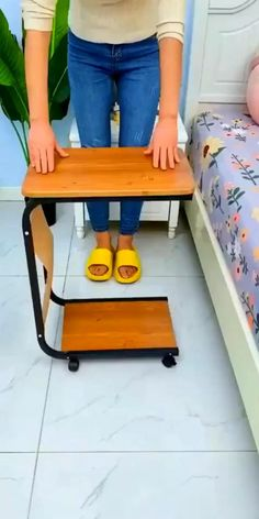 House Furniture Design, Diy Furniture Couch, Space Saving Furniture, Home Room Design, Home Decor Furniture, Folding Furniture, Diy Home Crafts, Diy Home Decor, Bed Table